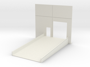 Roll Door w/Ramp Only in White Natural Versatile Plastic