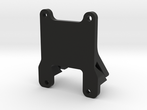QAV 45° GoPro Mount for Modular Mounting System in Black Natural Versatile Plastic
