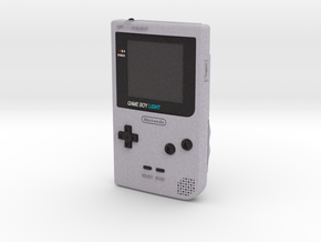 1:6 Nintendo Gameboy Light (Silver) in Full Color Sandstone