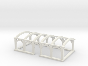 NBiK Tw. 25 Dachaufbau (roof) in White Natural Versatile Plastic