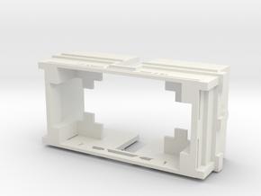 NBiK Tw. 25 Kasten und Rahmen (chassis)  in White Natural Versatile Plastic