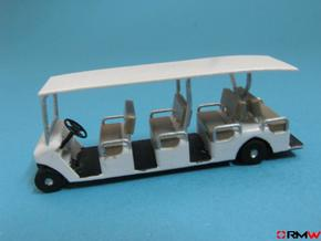 HO/1:87 Buggy 4 seating rows, kit in Smooth Fine Detail Plastic