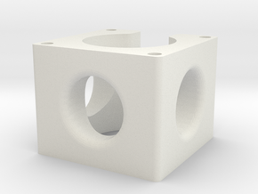Nema 23 Spacer in White Strong & Flexible