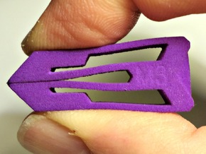 Tweezers M3 in Purple Processed Versatile Plastic
