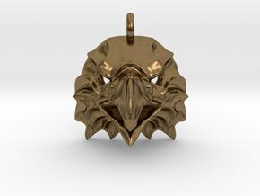 Eagle Pendant in Natural Bronze