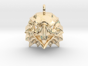 Eagle Pendant in 14k Gold Plated Brass