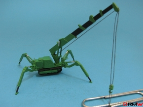HO/1:87 Mini Crawler Crane Set C kit in Smooth Fine Detail Plastic