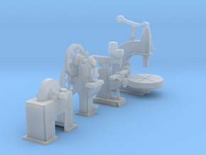 Large Metal Working Machines Collection 2 OO Scale in Smooth Fine Detail Plastic