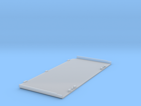 3DS Bottom Faceplate - Base in Smooth Fine Detail Plastic