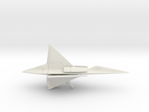 SKyBlade sculpture - from Concept Design Quest in White Natural Versatile Plastic