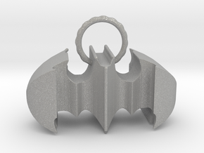 Batman keychain (or necklace ) in Aluminum