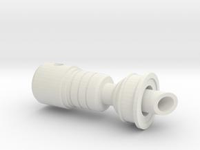 EZRA2.1 in White Natural Versatile Plastic