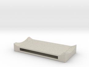 SmartPhoneCaseForBicycleHelmet01 in Natural Sandstone