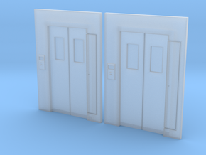 N-05 Lift Entrances in Smooth Fine Detail Plastic