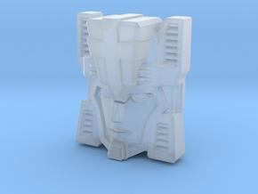 Fembot HeadNurse Face (Titans Return) in Smooth Fine Detail Plastic