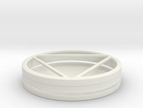 Iron Man 3 Arc Reactor in White Natural Versatile Plastic