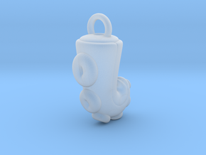 CHIBI CHUBBY TENTACLE in Smooth Fine Detail Plastic