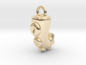 CHIBI CHUBBY TENTACLE in 14K Yellow Gold