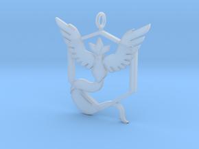 Pokémon Go Team Mystic Pendant in Smoothest Fine Detail Plastic