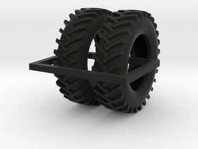 1/64 20.8-42 R1 Tractor Tires in Black Strong & Flexible