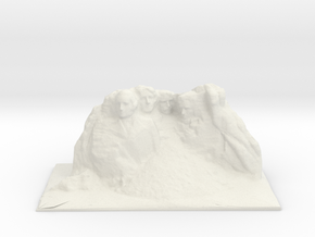 Mount Rushmore 31mm in White Natural Versatile Plastic