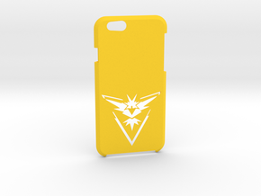 Iphone 6/6S Team Instinct Case  in Yellow Strong & Flexible Polished