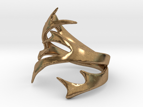 Antler Size 9 in Natural Brass