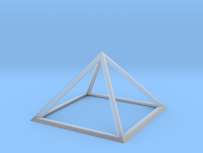 Giza Pyramid in Smooth Fine Detail Plastic