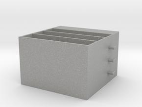 Mini Cabinet in Aluminum