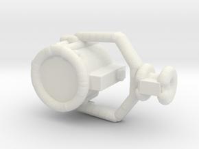 1/144 Scale USN 24 Inch Searchlight in White Natural Versatile Plastic