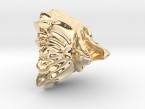 Eagle Small Pendant in 14K Yellow Gold
