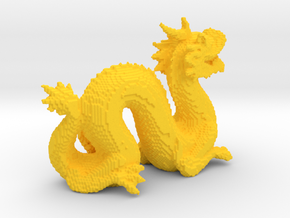 Cyber Dragon Stanford - Hollow in Yellow Processed Versatile Plastic