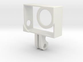 GoPro Case in White Natural Versatile Plastic