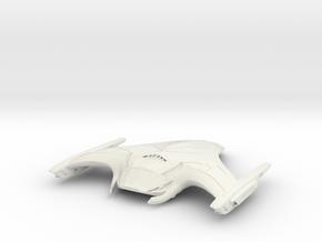 Fire Bird Class Destroyer in White Natural Versatile Plastic