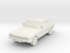 1:87 Ford-capri-mk-1-3l-hollow in White Natural Versatile Plastic