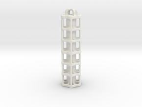 Tritium Lantern 5E (3x50mm/stacked 3x25mm Vials) in White Natural Versatile Plastic