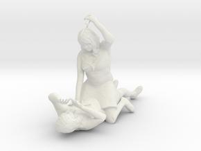 The Stabber in White Strong & Flexible