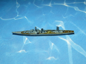 IJN Tsugaru 1941 1/2400 in Smooth Fine Detail Plastic