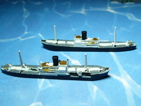 German Auxiliary Cruiser HSK Komet 1/2400  in Frosted Ultra Detail