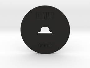 Clay Extruder Die: Footer 011 05 in Black Natural Versatile Plastic