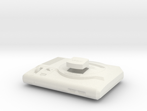 1:6 Sega Genesis (Model 01) in White Natural Versatile Plastic