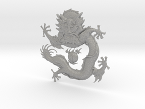 Dragon Body in Aluminum