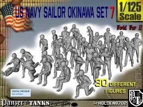 1/125 US Navy Okinawa Set 7 in Frosted Ultra Detail