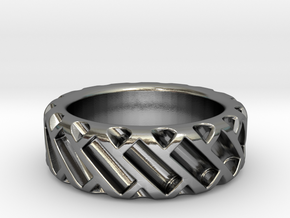 US9 Ring XV: Tritium in Polished Silver