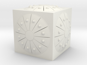 DCEU MotherBox Model in White Natural Versatile Plastic