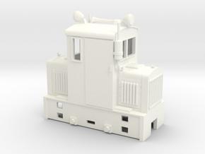 Freelance model shunter  On18 1/48 9mm in White Processed Versatile Plastic