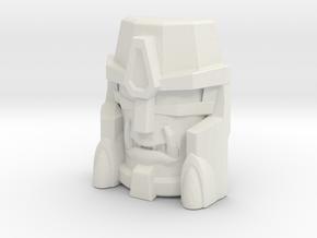 Beast Wars Megs, Croc (Titans Return) in White Natural Versatile Plastic
