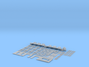 NVIM43 - City buildings in Smooth Fine Detail Plastic