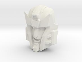 Pharma Faceplate (Titans Return Compatible) in White Natural Versatile Plastic