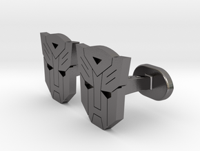 Avv Cufflinks in Polished Nickel Steel
